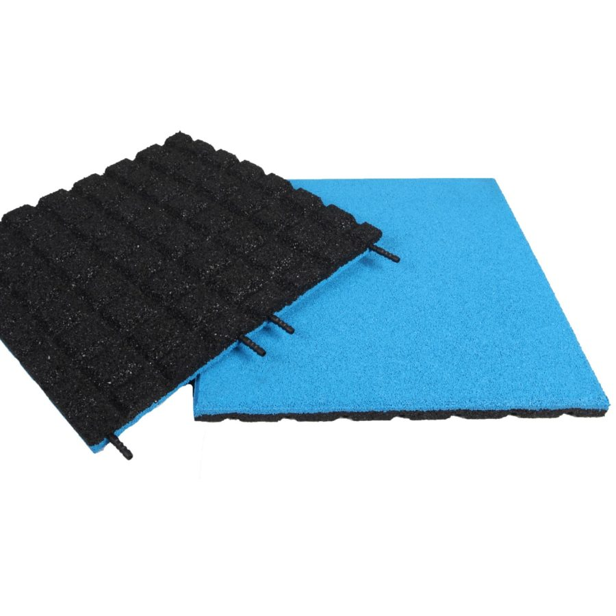Blue EPDM Rubber tile